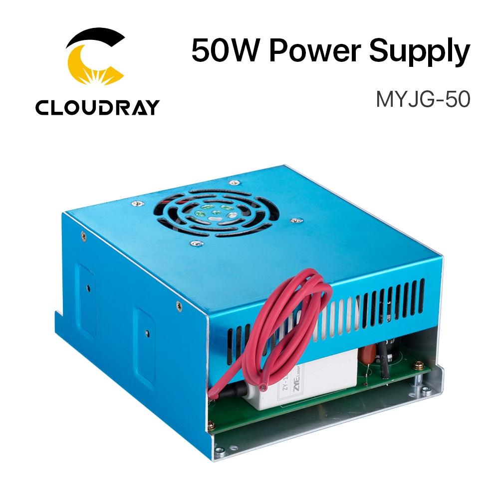 Zasilacz laserowy Cloudray 50W CO2 do grawerki laserowej CO2 - Części maszyn do obróbki drewna - Zdjęcie 2