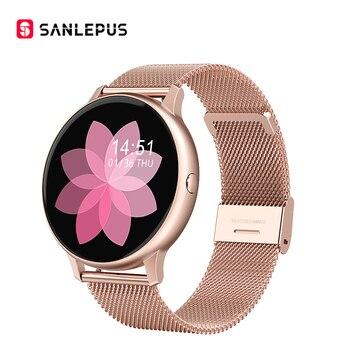 2020 SANLEPUS Smart Watch Sport Heart Rate Monitor Waterproof Fitness Bracelet Men Women Smartwatch For Android iOS Apple Xiaomi - discount item  70% OFF Smart Electronics