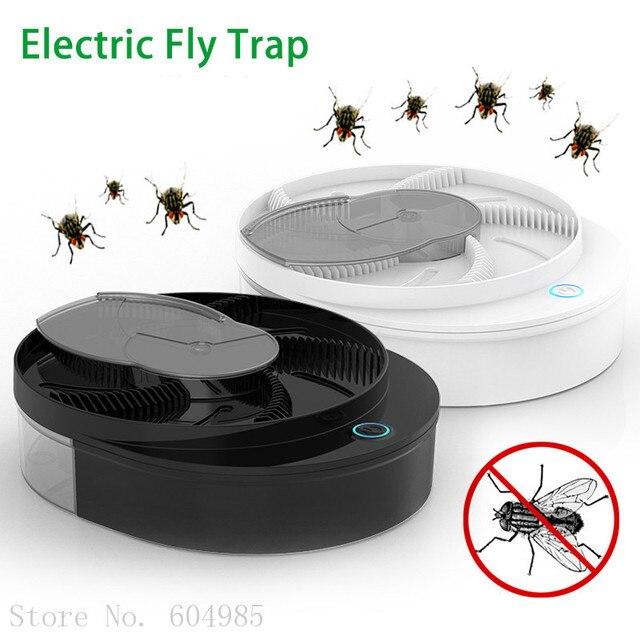 Piège à mouches électrique USB, appareil Anti-mouches automatique, capteur Anti-mouches, contrôle des rejets dinsectes, port Usb