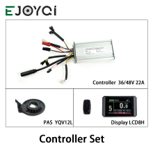 Conversion-Kit Kunteng-Controller-Set LCD3 Ebike Color-Display 500W EJOYQI 36V 22A PAS