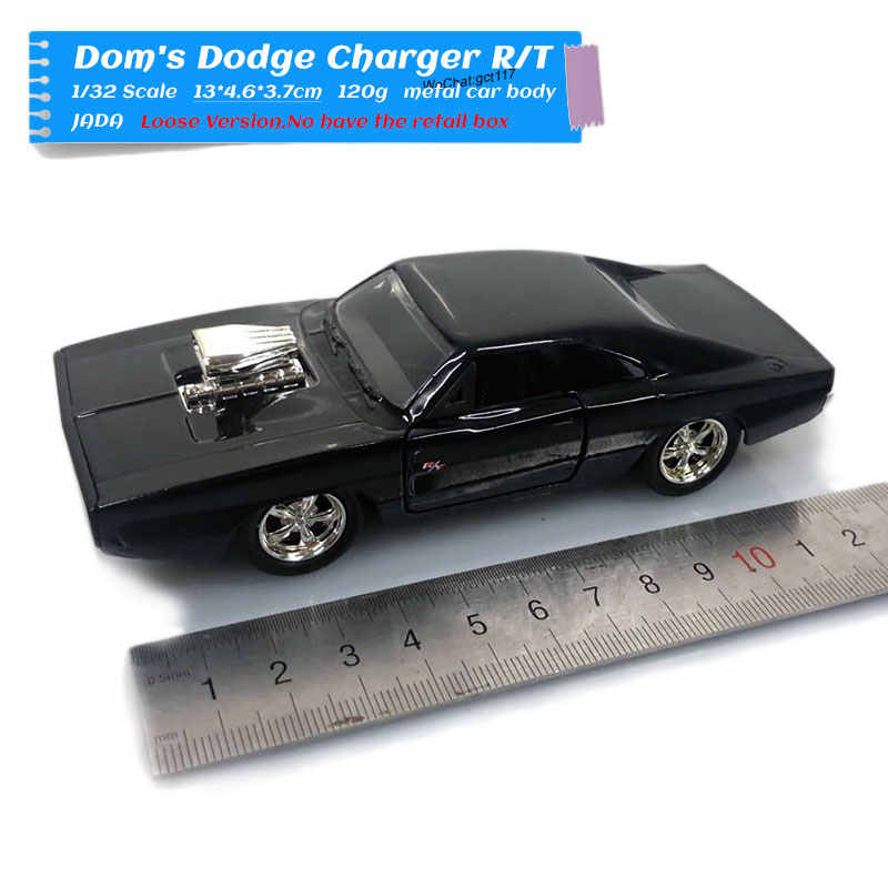 JADA 1/32 Scale Car Toys 1970 CHARGER R/T Diecast Metal Car Model Toy For Gift/Collection/Kids