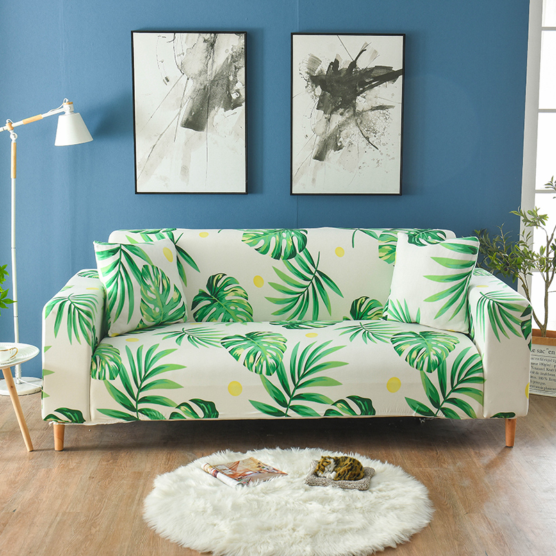 Floral Printing Elastic Sofa Covers For Living Room Sofa Towel Slip-resistant Sofa Cover Strech Sofa Slipcover