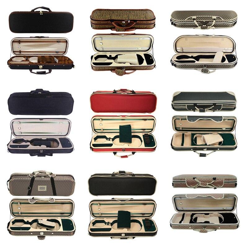 Violin Box Light Shoulder-back Case No. 4/4 3/4 1/2 1/4,for Dbuit-High Violin Quality Case