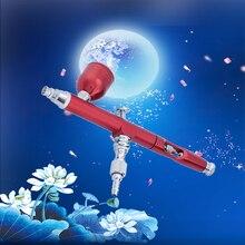 Paint-Spray-Pen Airbrush Nozzle Cleaning-Kit 20CC 40CC Hopper with 7CC Dual-Action-Gun