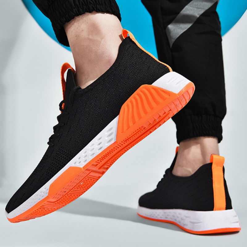 Turnschuhe Männer Licht Gewicht Laufschuhe Gym Fitness Trainer Basketball Tennis Schuhe Männlichen Schuhe Fashion Outdoor Sport Schuhe 44