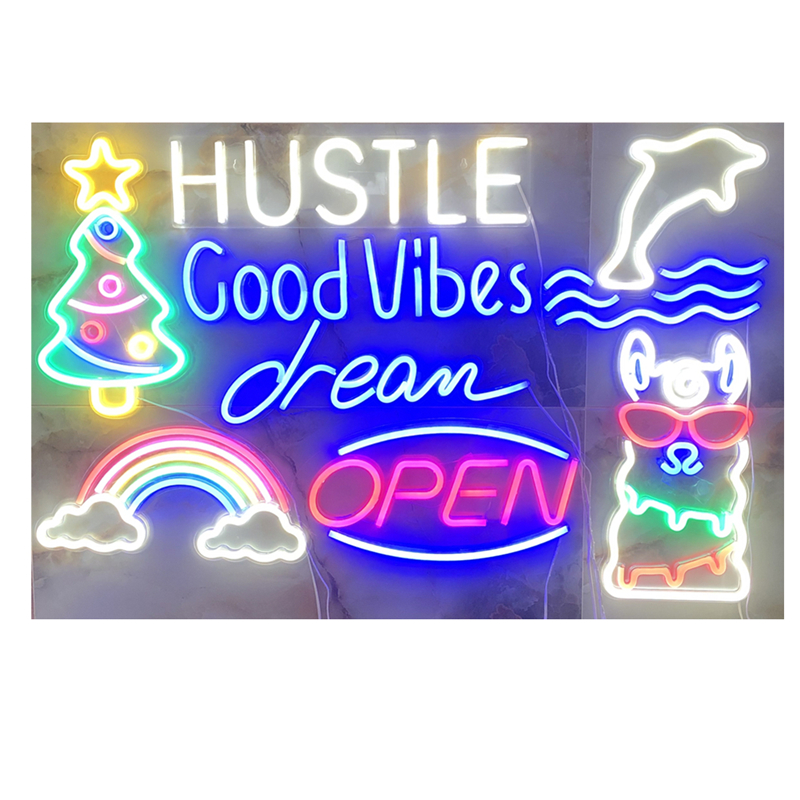 Neon Wall Signs Art Decor Led Neon Light Personality Words For Party Christmas Holiday Decoration Bar Shop Window Sign Lights