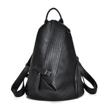 2020 Luxury Vintage Antitheft Backpack Fashion Large Capacity Women Shoulder