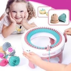 48 nadeln Wolle Gestrickte Stoff Große Größe DIY Weben Maschine Set Hand Gestrickte Schal Pullover Hut Socken Faul Mann Artefakt