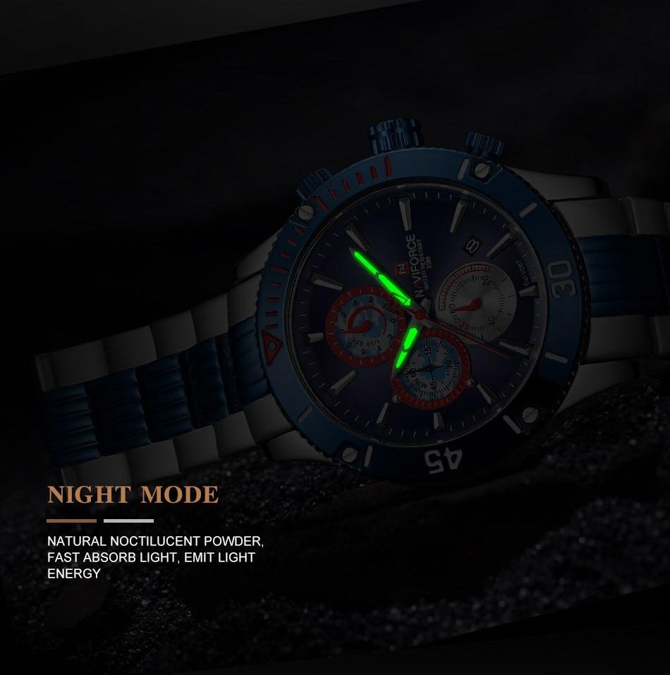 NAVIFORCE 9173 Watch 9