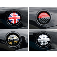 Car fuel tank cap Filler lid decoration Cover Sticker Exterior Trim For MINI COOPER S Clubman R55 R56 Car Styling Accessories