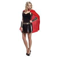 Ancient Greek Roman Sexy Female Fighter Warrior Costum for Women Halloween Costumes Carnival Mardi Gras Party Fancy Dress W 0021