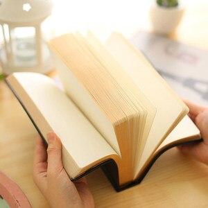 Image 5 - Carnet de notes Super épais à bordure dorée, bloc notes doux, impression à chaud, grande peinture, écriture pour Journal intime, cadeau