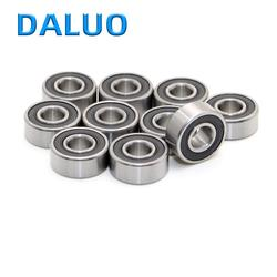 10 шт. DALUO подшипник MR126-2RS 6x12x4 MR126RS ABEC-1 однорядные шариковые подшипники с глубоким желобом метрических