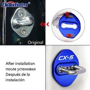 Крышка дверного замка автомобиля для Mazda CX-5 CX5 логотип, эмблема аксессуары наклейка пряжка крышка 2014 - 2020 Авто Стайлинг JDM украшение