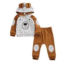 Outfit Leggings Sweatshirt Pants Infant Baby-Boy-Girl Winter Cartoon Fashion 0-24-Months