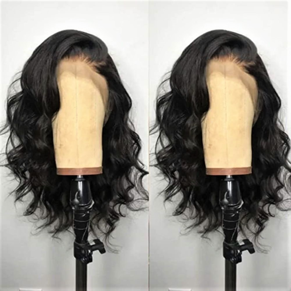 Dorosy Short Bob Lace Front Wigs Glueless Synthetic Natural Wave Heat Resistant Fiber Hair Wig With Baby Hair For Black Wom