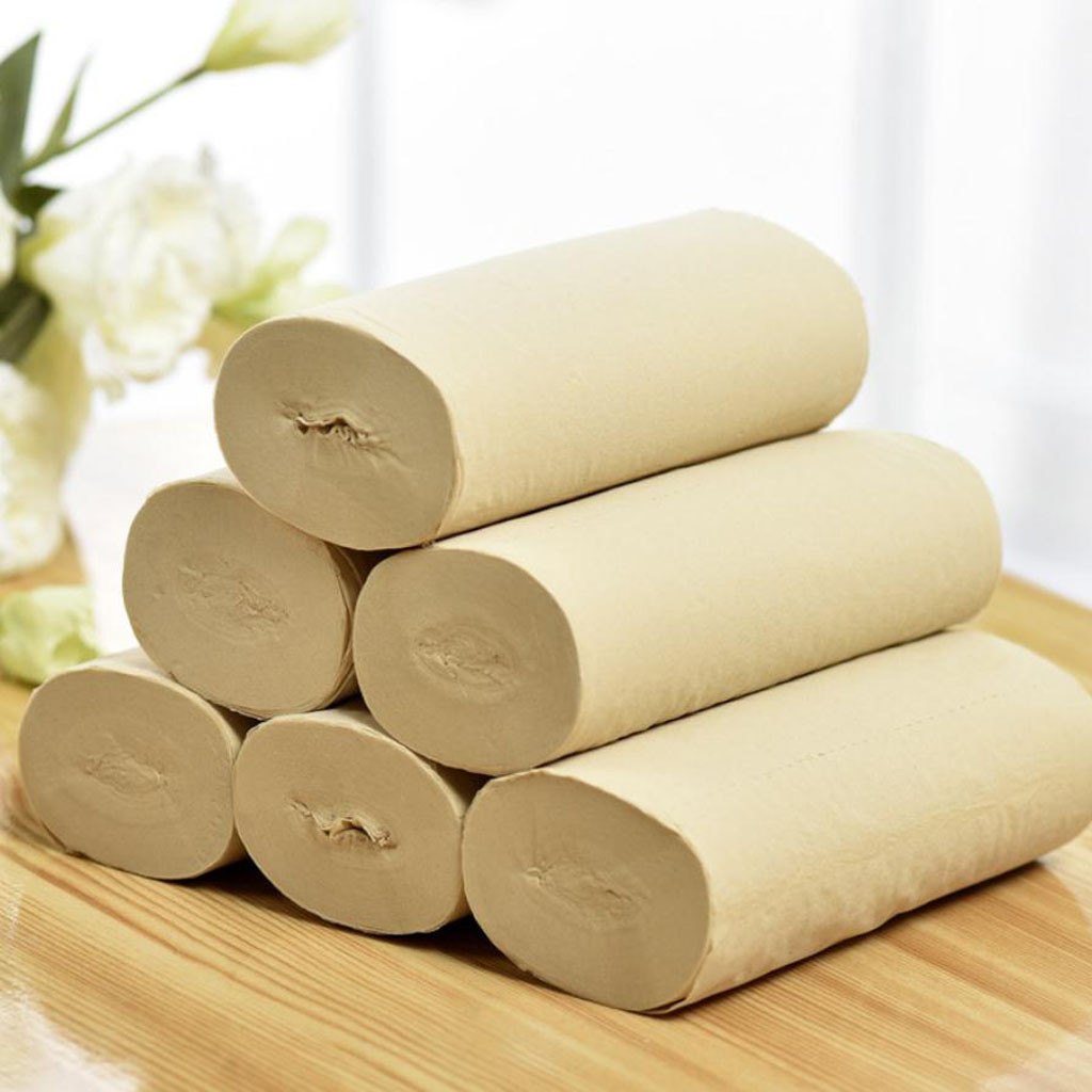 10PCS Hygienic Roll Paper Affordable Coreless Special Paper Towels Toilet Paper Home Roll Paper @3