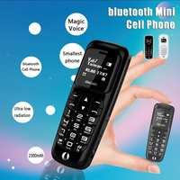 Bluetooth Mini Handy Protable Mini Handy Lange Standby Magische Stimme Stereo Kleinste Größe Ersatz Handy|Handy-Zubehörpakete|   -