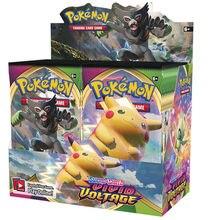 2021 novos 324 pces pokemones cartões tcg: jogo de cartão de negociação colecionável da caixa do impulsionador do caminho do campeão da tensão vívida