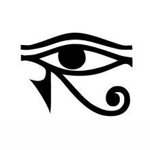 13cm x 10cm per EYE OF RA HORUS dio egiziano decalcomania del vinile adesivo per finestra paraurti da parete simbolo pagano adesivi per auto
