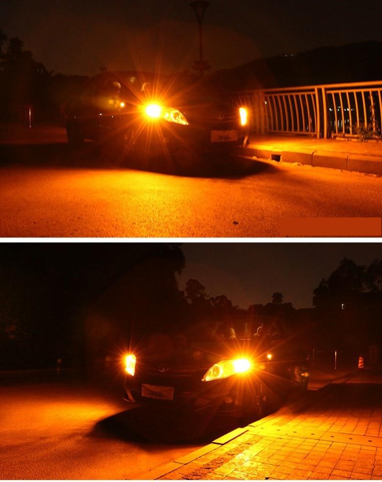 Car Turn Signal LED Command light headlight modification 12V 10W 6000K 2PCS For Toyota Sienna 2005-2015