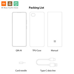 Image 5 - Xiaomi QIN Full Screen Phon e 4G Network With Wifi 5.05 inch 2100mAh Andriod 9.0 SC9832E Quad Core Feature WIFI AI Translator