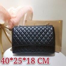 new lady's shoulder bag oblique handbag real leather bag fashionable and durable gift free postage