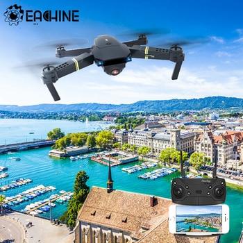 Eachine-Mini Dron con cámara HD y brazo plegable. E58, cuadricóptero de control...