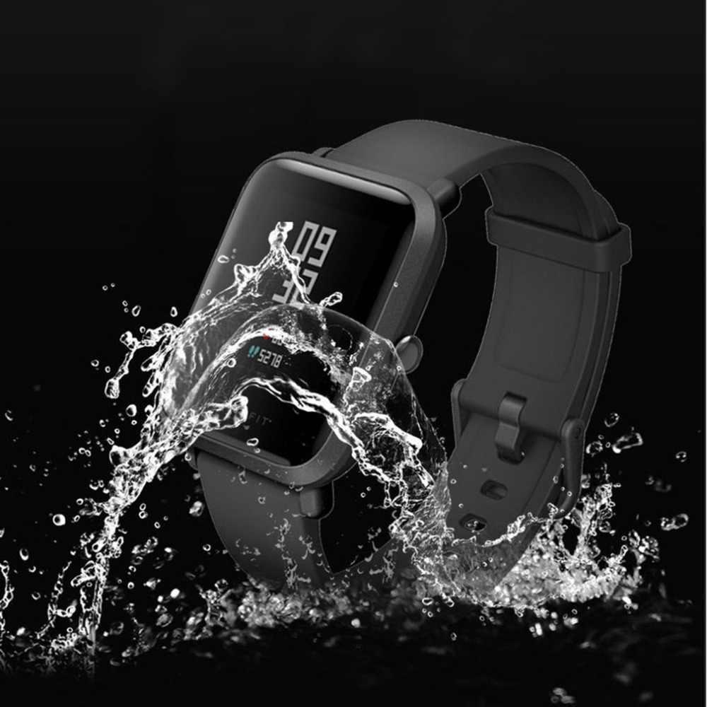 Yumuşak TPU HD temizle koruyucu film koruyucu için Xiaomi Huami Amazfit Bip BIT PACE Lite akıllı saat tam ekran koruyucu kapak