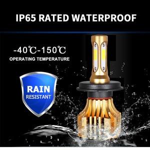 Image 3 - PANDUK LED far 16000LM 4300K 6000K 9005 H1 880 H4 Led H3 H7 LED H11 Led 3000K 9006 HB3 HB4 ampul süper parlak araba lambası 12V