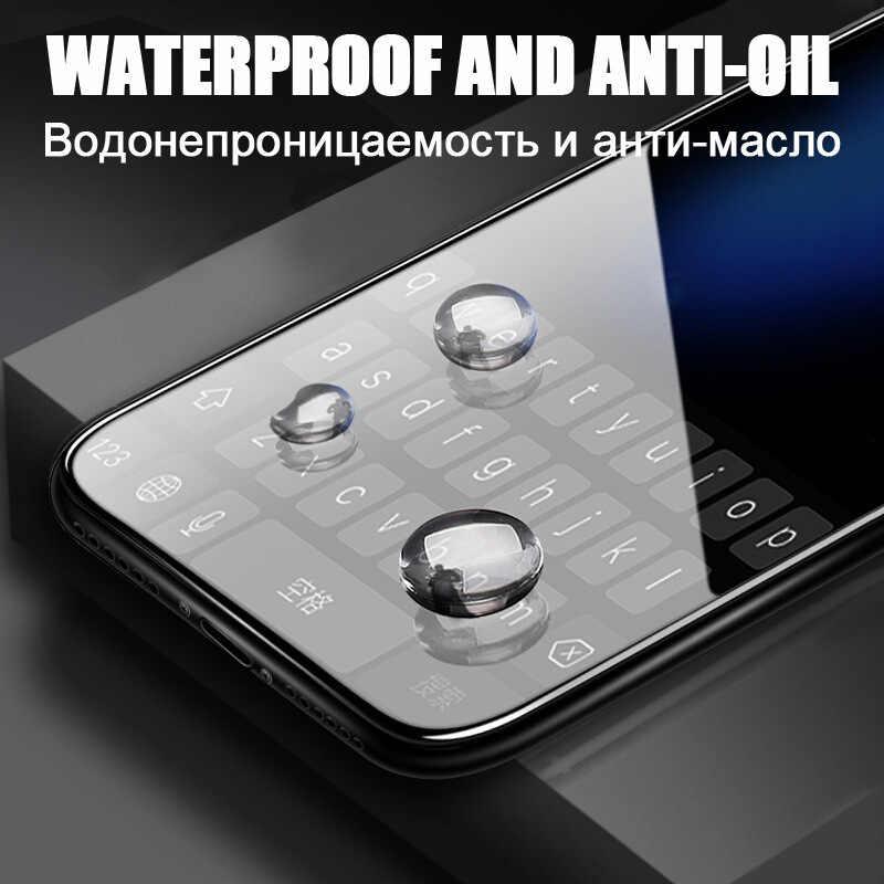 2 en 1 couvercle complet 9D verre trempé pour Xiaomi A3 Lite cc9 pro Redmi 7 8 7A 8A Note 7 8 pro 8T Film protecteur d'écran