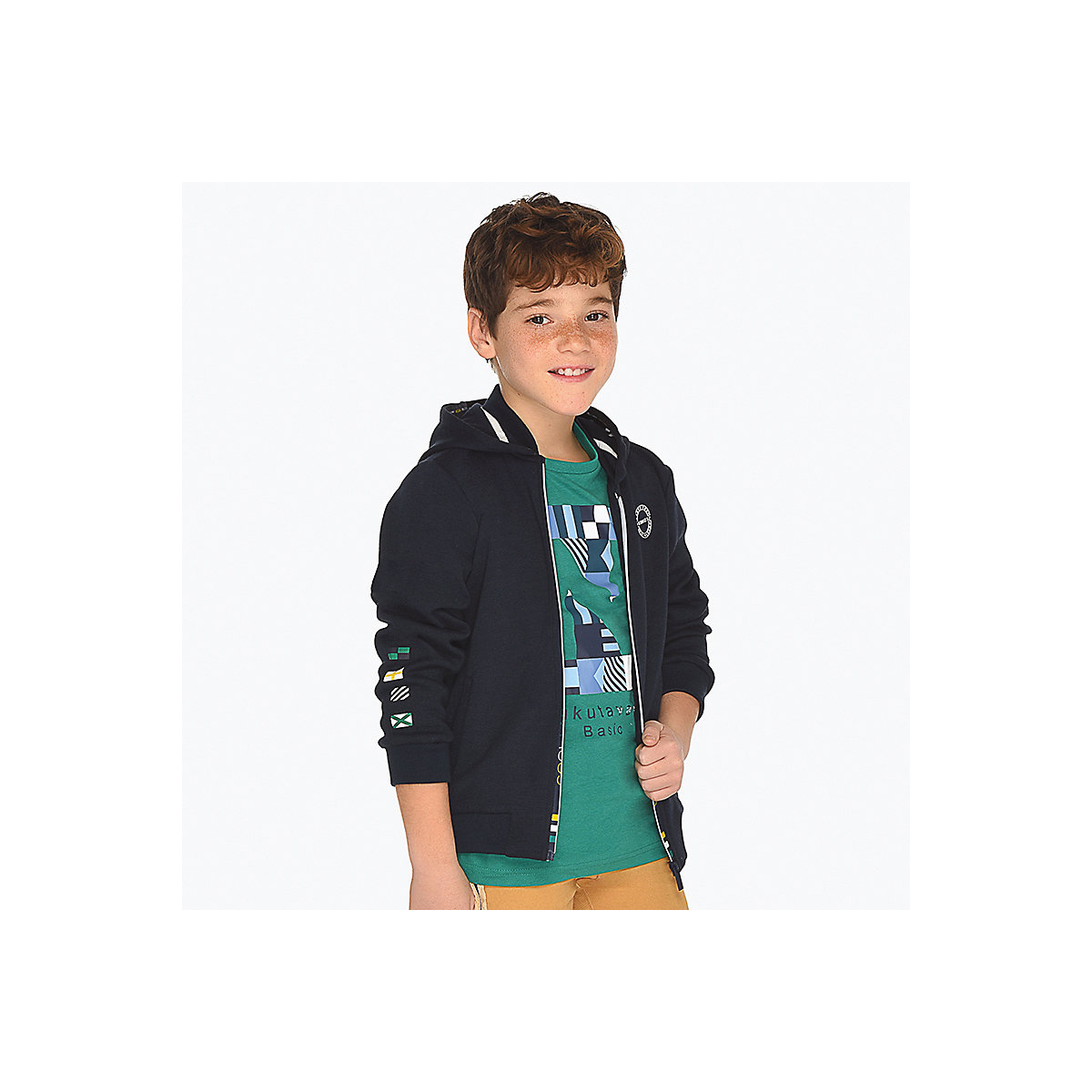 MAYORAL Hoodies & Sweatshirts 10685189 pullover jumper for boys and girls clothes children's sweatshirt Polyester Boys