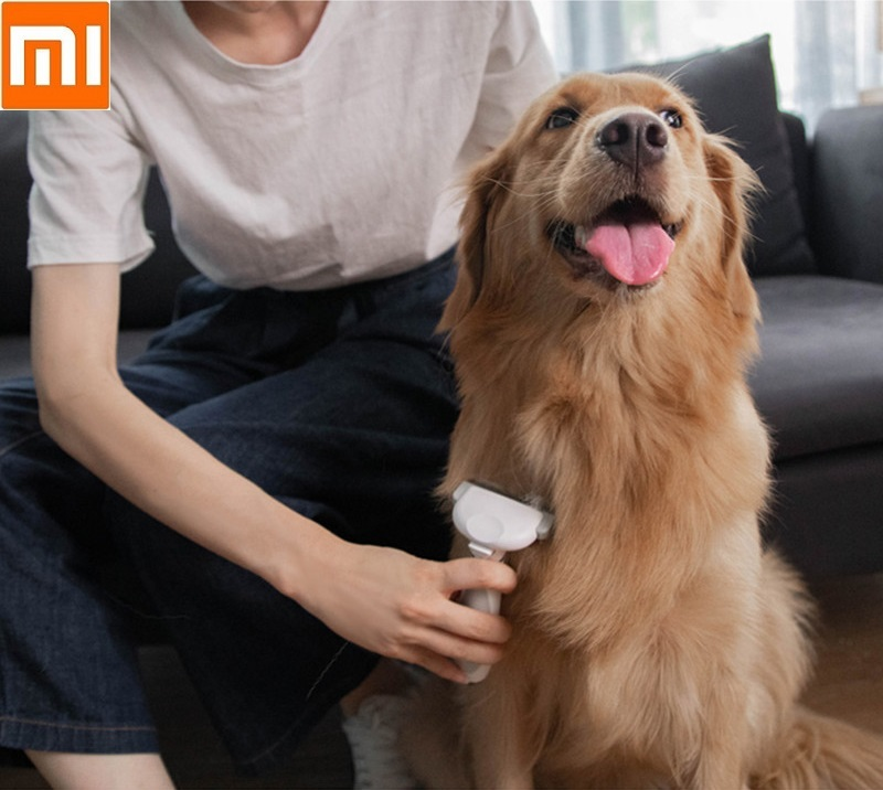 Xiaomi Mijia Pawbby Pet Hair Removal Comb Cat Dog Hair Brush Shaver Pets Trimmer Combs Clipper Cats Grooming Tool
