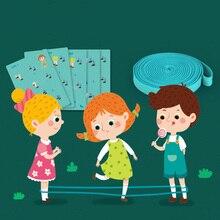 Уличные детские игрушки, классические эластичные веревки, уличные игры, подарок для детей, игрушки для спортзала, сотрудничество для детей, синий цвет