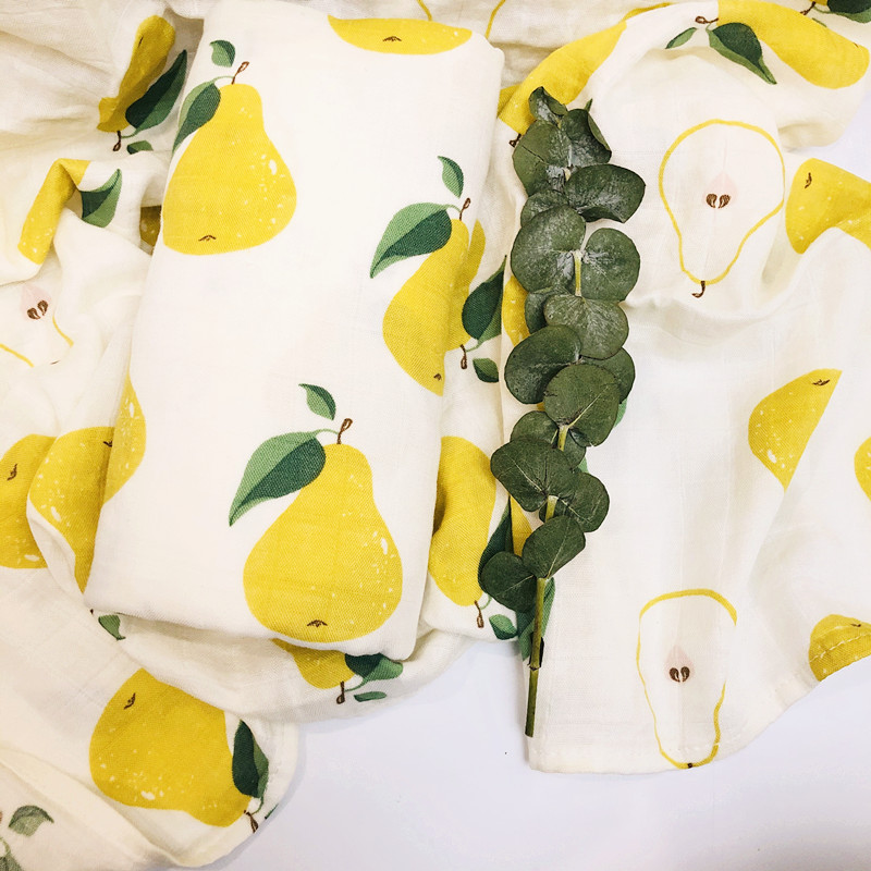 70% Bamboo Baby Swaddle  Blankets Wraps Cotton Baby Muslin Blankets Newborn Big Diaper Muslin Quilt