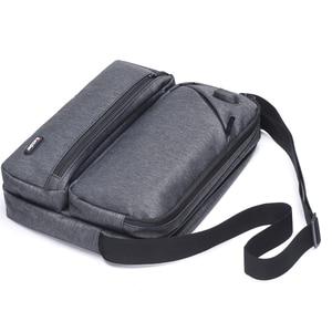 Image 3 - ICozzier Multiuso/Multi Spazio Borsa con tracolla Accessori Elettronici Dellorganizzatore di Immagazzinaggio Sling Messenger Bag per iPad, Ombrello,