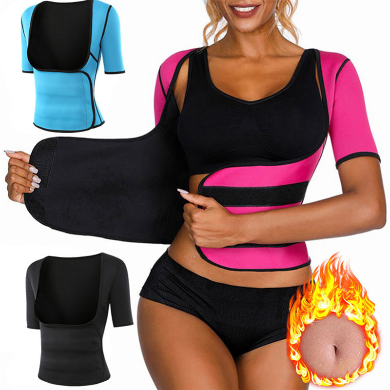 Women Sauna Vest Hot Sweat Waist Trainer Vest Weight Loss Body Slimming Shape Wear Workout Vest For Yoga, Gym, Running, Pilates