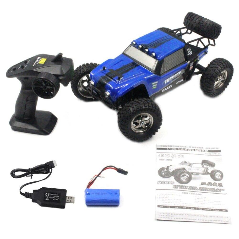 HBX 12889 1/12 2.4G 26 km/h Propulsore 4WD RC Truggy Off Road Camion del Deserto Due Modalità di Velocità di RC Auto giocattoli Per I Bambini - 6