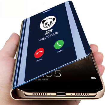 Inteligentne lusterko etui na telefon xiaomi czerwony mi uwaga 8 7 5 6 K20 Pro 4 4X 5A 6A 7A 5 Plus S2 mi 9 8 SE Lite 9T Pro A1 A2 5X 6X pokrywa tanie i dobre opinie ESSUIAL Etui z klapką Smart Mirror Stand Phone Case 4X Redmi Nocie Redmi Note 4 Mi MIX 2 Mi 5X Redmi Uwaga 3 Redmi Uwaga 5A