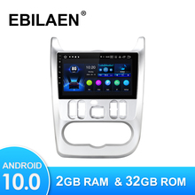 Car Multimedia Player Autoradio Screen-Head-Unit Navigation Gps Android 10.0 Renault Logan