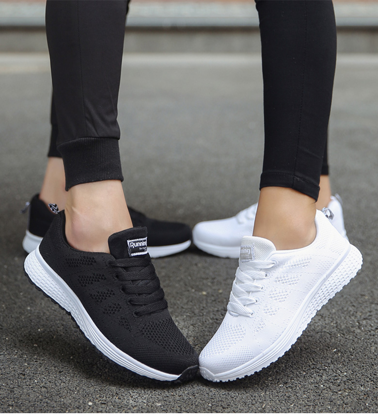 Sports Shoes Women Breathable Sneakers Women White Shoes For Basket Femme Ultralight Woman Vulcanize Shoes Couple Casual Sneaker