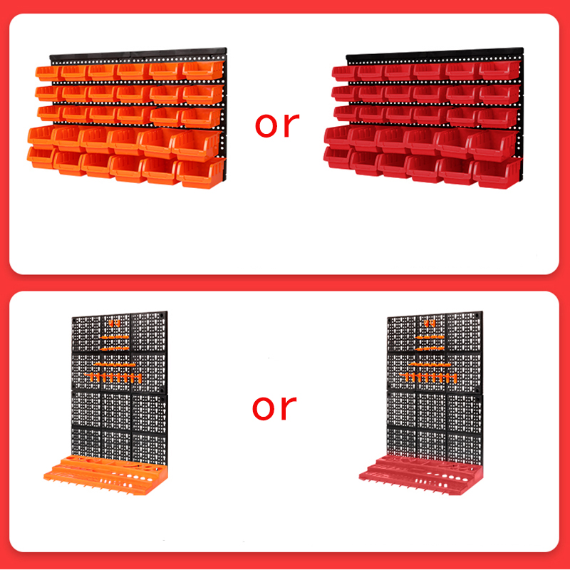 Top SaleCase-Parts Hardware-Tools Box-Instrument Storage-Rack Screw-Wrench Hanging-Board Classification-Component