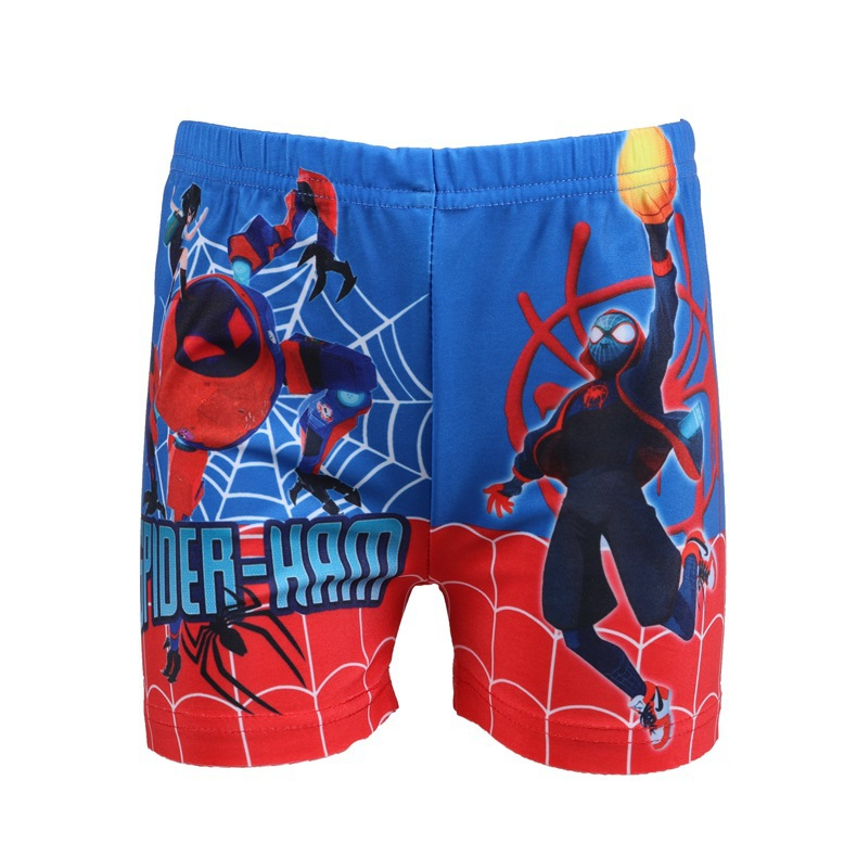 2019 Hot Sales CHILDREN'S Swimming Trunks Cartoon Hot Springs Outdoor Surfing Beach Swimming Shorts Spider BOY'S Pants 005