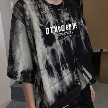 Korean women t-shirt stranger things top Short sleeve dropshipping clothes vintage streetwear punk print Casual Hip Hop Clothing