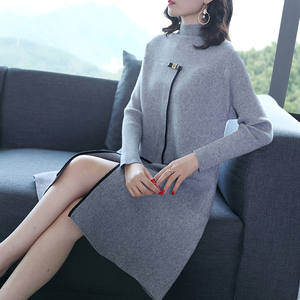 Sweater Coat Upper Turtleneck Knitting Temperament Render New Outside of Comfortable