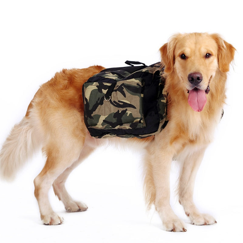 Dog Pack Hound Travel Camping Hiking Backpack Saddle Bag Rucksack With Large Capacity for Pet Dog Outdoor Travel Supplies Dropsh