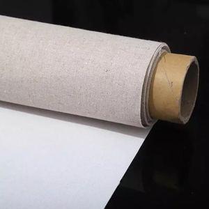 Image 3 - Tela de linho primida para pintura a óleo, material à prova dágua para pintura à óleo, de camada de alta qualidade, 5m um rolo