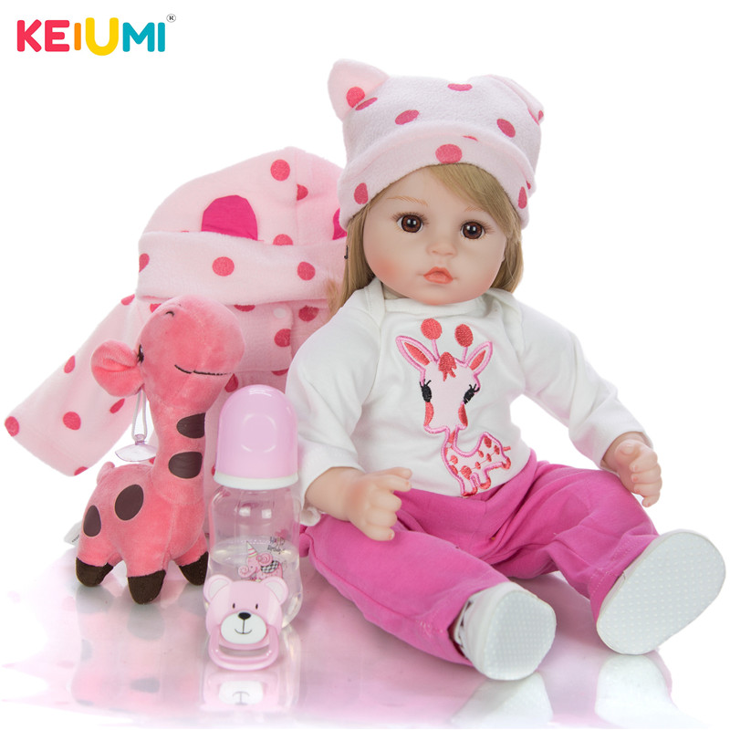 KEIUMI Explosion Baby Baby Toy Holiday Birthday Gift Filled Cartoon Cute Realistic Safe Non-toxic Rebirth Doll Simulation Baby