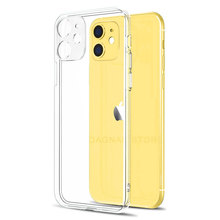Lens Protection Clear Phone Case For iPhone 11 7 Case Silicone Soft Cover For iPhone 11 Pro XS Max X 8 7 6s Plus 5 SE 11 XR Case cheap DAGNAK Fitted Case Lens Protection Silicone Soft Case Apple iPhones iPhone 5 iPhone5c iPhone 6 iPhone 6 Plus IPHONE 6S iPhone 6s plus