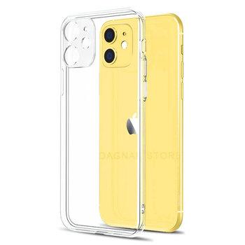 Ochrona obiektywu wyczyść etui na telefon iPhone 11 7 etui silikonowe etui na iPhone 11 Pro XS Max X 8 7 6s Plus 5 SE 12 etui XR tanie i dobre opinie DAGNAK CN (pochodzenie) Bumper Lens Protection Silicone Soft Case Apple iphone ów Iphone 5 Iphone5c Iphone 6 Iphone 6 plus